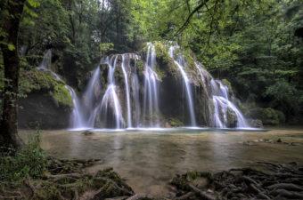 Tuffwasserfall bei Arbois