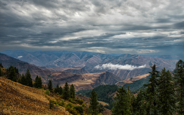 Hells Canyon Over Look