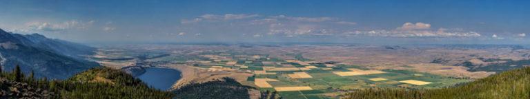 Blick vom Mount Howard