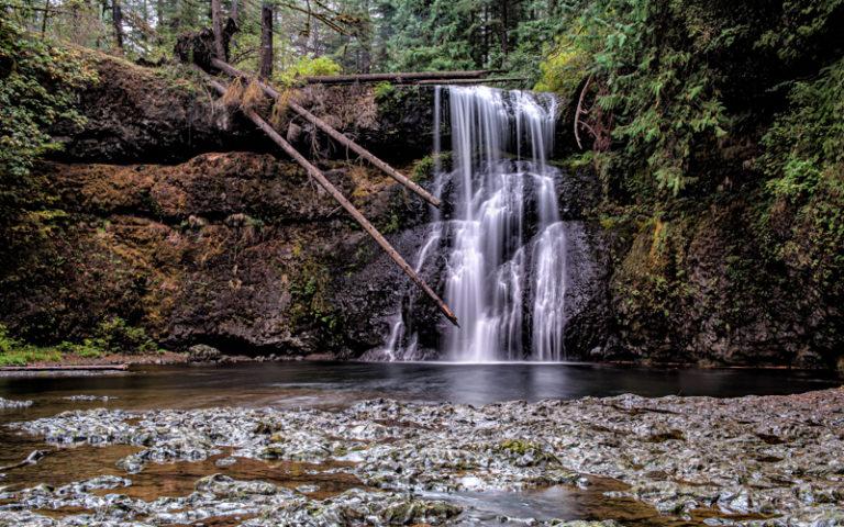 Sliver Falls Upper North